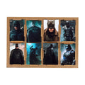 Batman Wall Art Sticker Set - 8 PCs (08849)