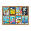 SpongeBob Wall Art Sticker Set - 8 PCs (08849)