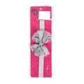 Fancy Bow Star Frill Headband - Grey (HB-31)