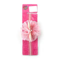 Fancy Butterfly Frill Headband - Pink (HB-78)