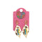 Stylish Metal Earrings For Girls - Gold (13539)