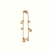 Fancy Anchor Design Bracelet For Girls - Gold (B03)