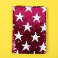Stars Sequin Diary For Kids - Pink (DRY-50-A5-9)