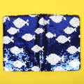 Fish Sequin Diary For Kids - Navy Blue (DRY-56-A5-8)