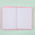 Lighting Unicorn Furr Diary - Pink (DRY-43-A5-11)