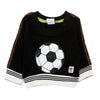 Football Printed Sweat Shirt For Boys - Black (1961)