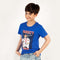 Varsity Class T-Shirt For Boys - Blue (BM5-2044)