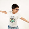 Volkswagen T-Shirt For Boys - Light Grey (BM5-2029)