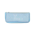 Rabbit Glitter Pencil Pouch - Sky Blue (9910)