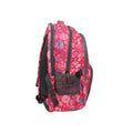 Printed Flower School Bag For Kids - Pink (2035)