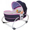 Mastela 5 in 1 Baby Rocker Bassinet - Blue/Grey (MRB-02)