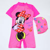 Minnie Mouse 1Pc Swimming Costume For Girls - Pink (A820-GS01)
