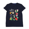Summer Homemade T-Shirt For Boys - Navy (BM5-2023)