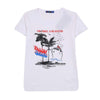 Venice Beach T-Shirt For Boys - White (BM5-2032)