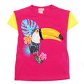 Sequin Bird T-Shirt For Infant Girls - Pink (IGTM-01)