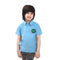 Hulk Design T-Shirt For Boys - Blue (9326)