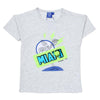 Sequin Miami T-Shirt For Boys -Light Grey (SM-T03)