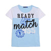 Ready For The Match T-Shirt For Boys - Sky Blue (BM5-2027)