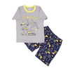 I Can Dig It 2 PCs Suit For Boys - Grey (SB-033)