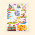 Room Decor Cartoon & Number 8D Wall Sticker (FE-005)