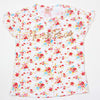Flower Power T-Shirt For Girls - White (GT-FP01)