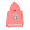 Daisy Duck Sequin Hoodie For Girls - Peach (GST-22)