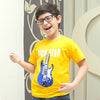 Boys T-Shirt Rock Star - Mustard (RS-T02)