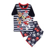 Paw Patrol 2 PCs Suit For Boys - Navy (SB-029)