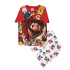 Super Mario 2 PCs Suit For Boys - Red (SB-032)