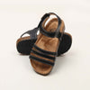 Stylish Buckle Strap Sandals For Boys - Black (DES-2)