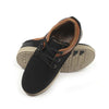 Fancy Laces Sneakers For Boys - Black/Brown (JS-166A)
