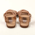 Fancy Style Strap Sandals For Girls - Champagne (0910-3)