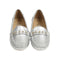 Casual Stylish Loafers For Girls - Silver (001-1)