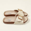 Fancy Slip On Slippers For Girls - Beige (B-11)