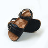 Fancy Strap Style Sandals For Boys - Black (DES-3)