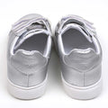 Fancy Strap Style Sneakers For Girls - Silver (92-2)