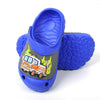 Fire Truck lightning Slippers For Boys - Blue (5553)