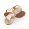 Casual Stylish Sandals For Girls - Gold (91223)