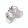 Fancy Glitter Strap Sandals For Girls - Gold (1005-44)