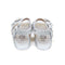 Fancy Glitter Strap Sandals For Girls - Silver (1005-44)
