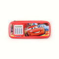 McQueen Pencil Pouch With Calculator - Red (1038A)