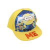 Minions Character Cap For Kids - Yellow (KC-006)