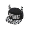 Dopeness Cap For Kids - Black/Grey (KC-007)