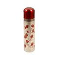 Leaf Stainless Steel Water Bottle 500ml - Maroon/Silver (WB-16074-4)