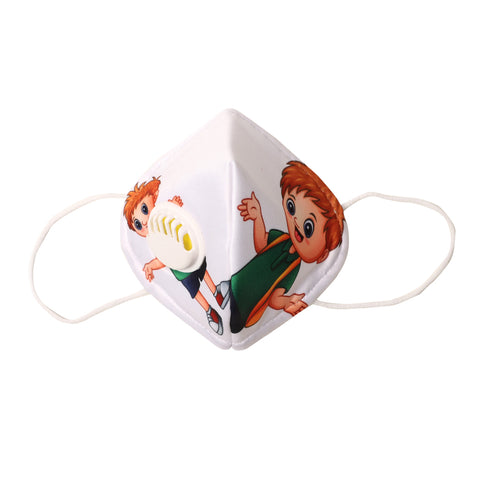 Little Boy Anti Dust Filter Mask For Kids (N95)