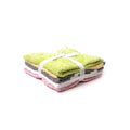 Colorful Baby Wash Clothes - 5 PCs (WC-02)