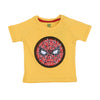 Spiderman Sequin T-Shirt For Boys - Yellow (BTS-79)
