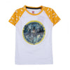 Batman 3D T-Shirt For Boys - White (BTS-81)