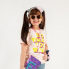 What Do You Want Printed T-Shirt For Girls - Pink (GT-F18)