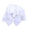 Baby Round Bow Cap For Kids - White (RC-006)